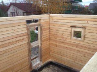 Строительство бани из бруса своими руками + особенности соединения теплого угла
