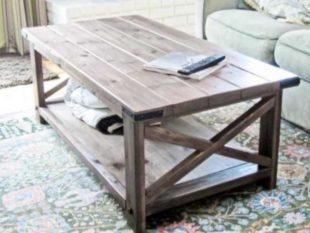 Как сделать журнальный столик в домашних условиях