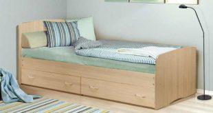 Одноместная кровать: размеры, комплектация, фото