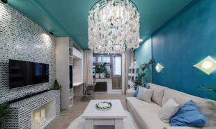Современные потолочные люстры для гостиной: варианты и фото