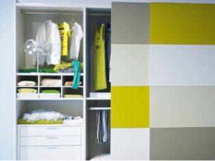 Дизайн шкафа-купе в маленькую прихожую + фото
