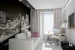 Дизайн спальни на 10-11 кв. м. + фото и проекты