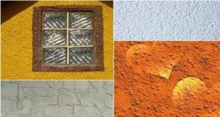 Технология нанесения фактурной краски