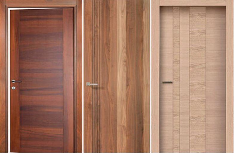 Высококачественные ламинированные дверные полотна