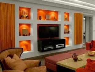 Дизайн стен из гипсокартона – лучшие дизайнерские решения