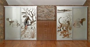 Пескоструйные рисунки на зеркале – лучшее украшение интерьера