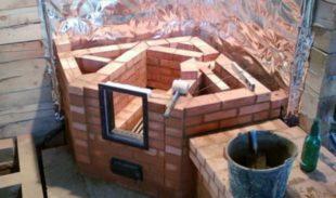 Как построить камин на даче своими руками: пошаговая инструкция