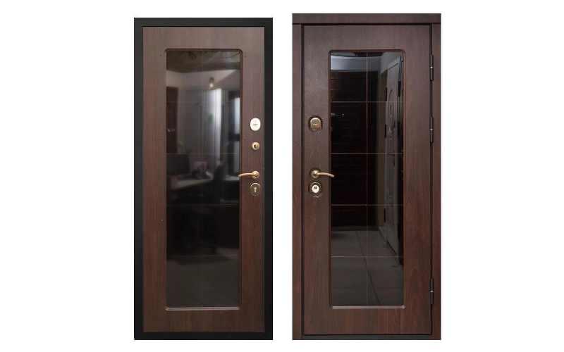 С двумя дверными полотнами (распашные).