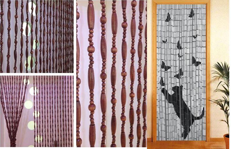 Межкомнатные деревянные шторы – стильные декорации для дизайна