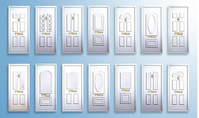 белые накладки на двери