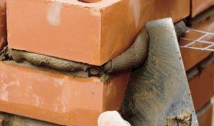 Расход и свойства кладочной смесь на кладку кирпича
