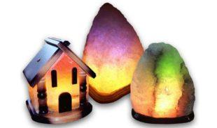 Польза и вред соляной лампы для дома