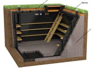 Как сделать бетонный погреб собственноручно