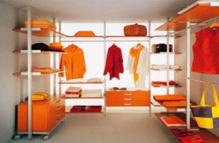 Встроенная гардеробная – требования, схема хранения + фото