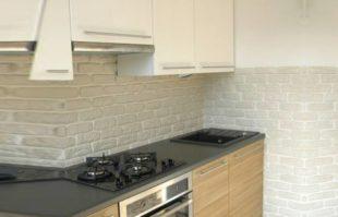 Интерьер и дизайн кухни с плиткой
