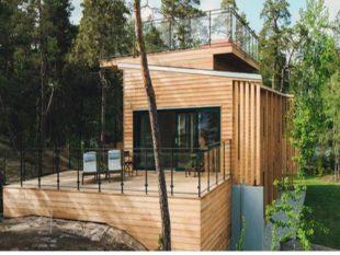 Как построить дом из обрезной доски своими руками
