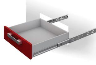 Как устанавливать роликовые направляющие для ящиков