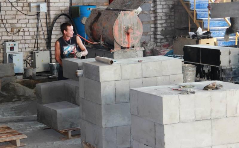 Как сделать газобетонные блоки своими руками