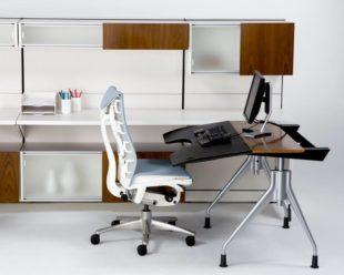 Стандартные и другие размеры компьютерного стола