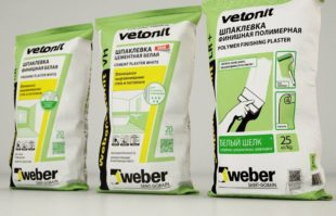Финишная шпаклевка Vetonit – виды и особенности применения
