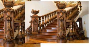 Балясины в деревянном доме – как выбрать, разновидности