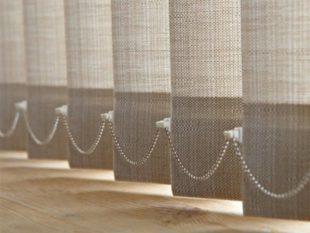 Вертикальные тканевые шторы-жалюзи