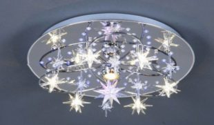 Светодиодные потолочные люстры в интерьере дома – надежные ли?