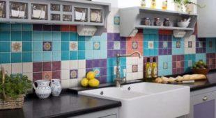 Кухонная керамическая плитка: виды, размер и дизайн