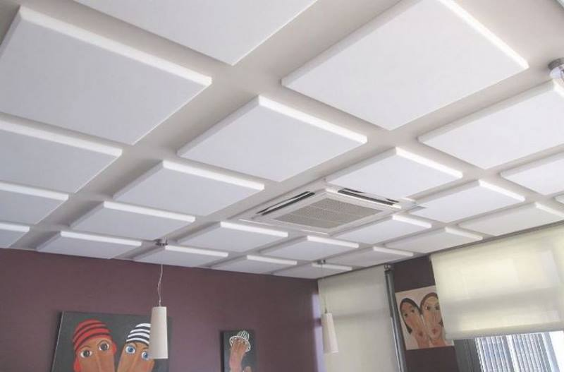 Как выбрать потолочную плитку + инструкция по монтажу
