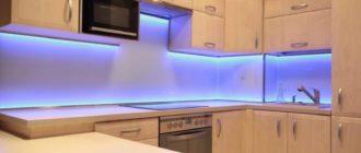 Ленту со светодиодами можно поделить на куски по 3 световых диода