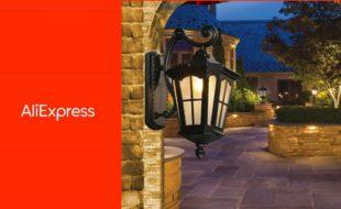 Уличные светодиодные светильники для загородного дома с АлиЭкспресс
