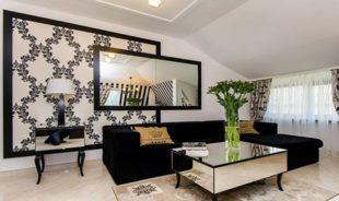 Черно-белые обои в интерьере дома: как правильно выбрать для комнаты