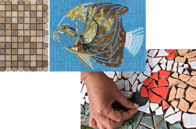 Как выложить декоративную мозаику своими руками