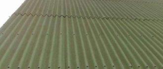 крыша под ондулином