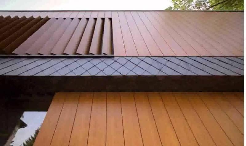 Отделка деревянными рейками для дома собственноручно
