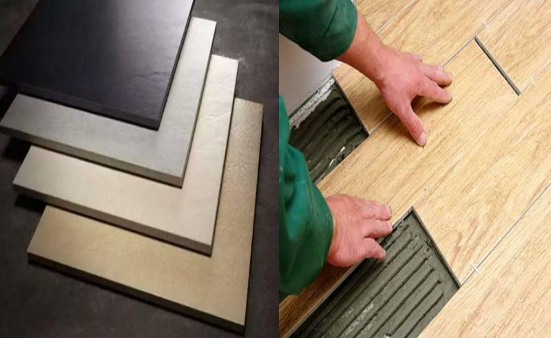 Керамогранит с имитацией древесины