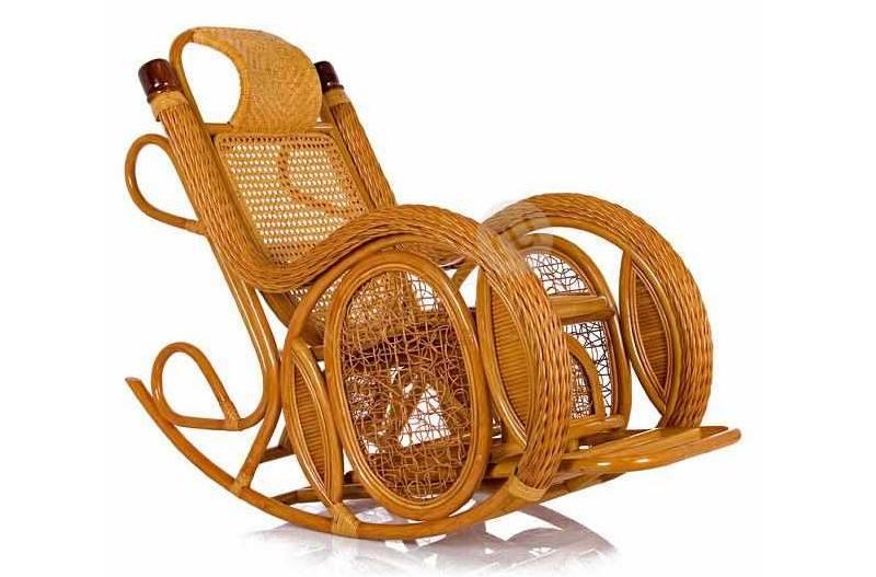 плетеная качалка