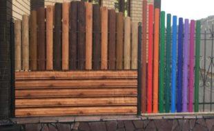 Деревянный штакетник: преимущества и недостатки, виды и свойства