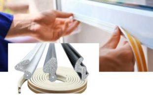 Выбор и установка уплотнителя для окон + пошаговая инструкция