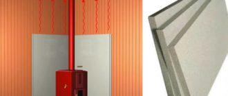 материал плотный, крайне важно оставлять зазор для вентиляции между