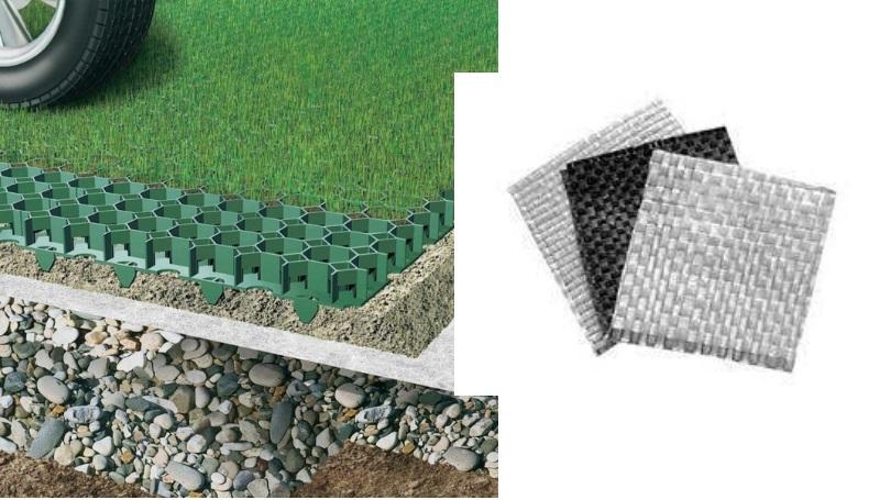 геотекстиль для газонов