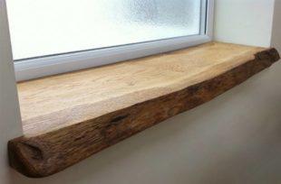 Как сделать деревянный подоконник своими руками