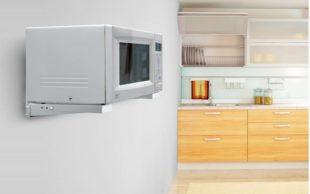 Как выбрать и установить кронштейн для микроволновки