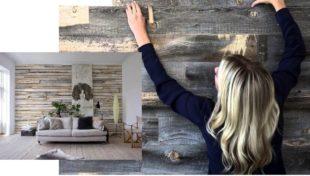 Как выбрать обои под дерево для стен в интерьере