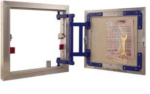 Ревизионные люки скрытого монтажа – виды и особенности установки