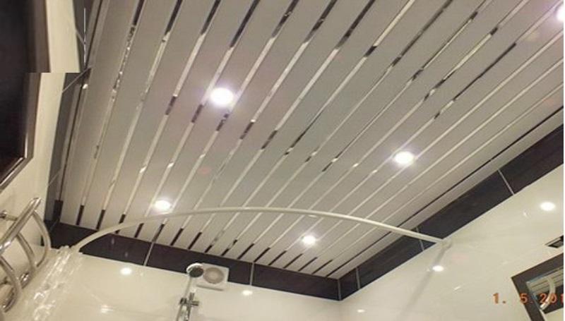 открытый потолок