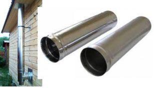 Как выбрать трубу для дымохода + пошаговая инструкция по монтажу
