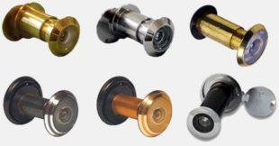 Как выбрать дверной глазок для металлической двери в дом