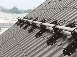 Как сделать снегозадержатели на крышу своими руками (пошаговая инструкция)