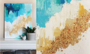 Картина на холсте в доме своими руками – как выбрать и нарисовать